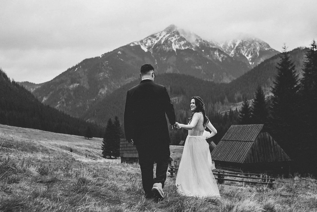 Plener ślubny w Tatrach. 3 najlepsze miejsca. 5