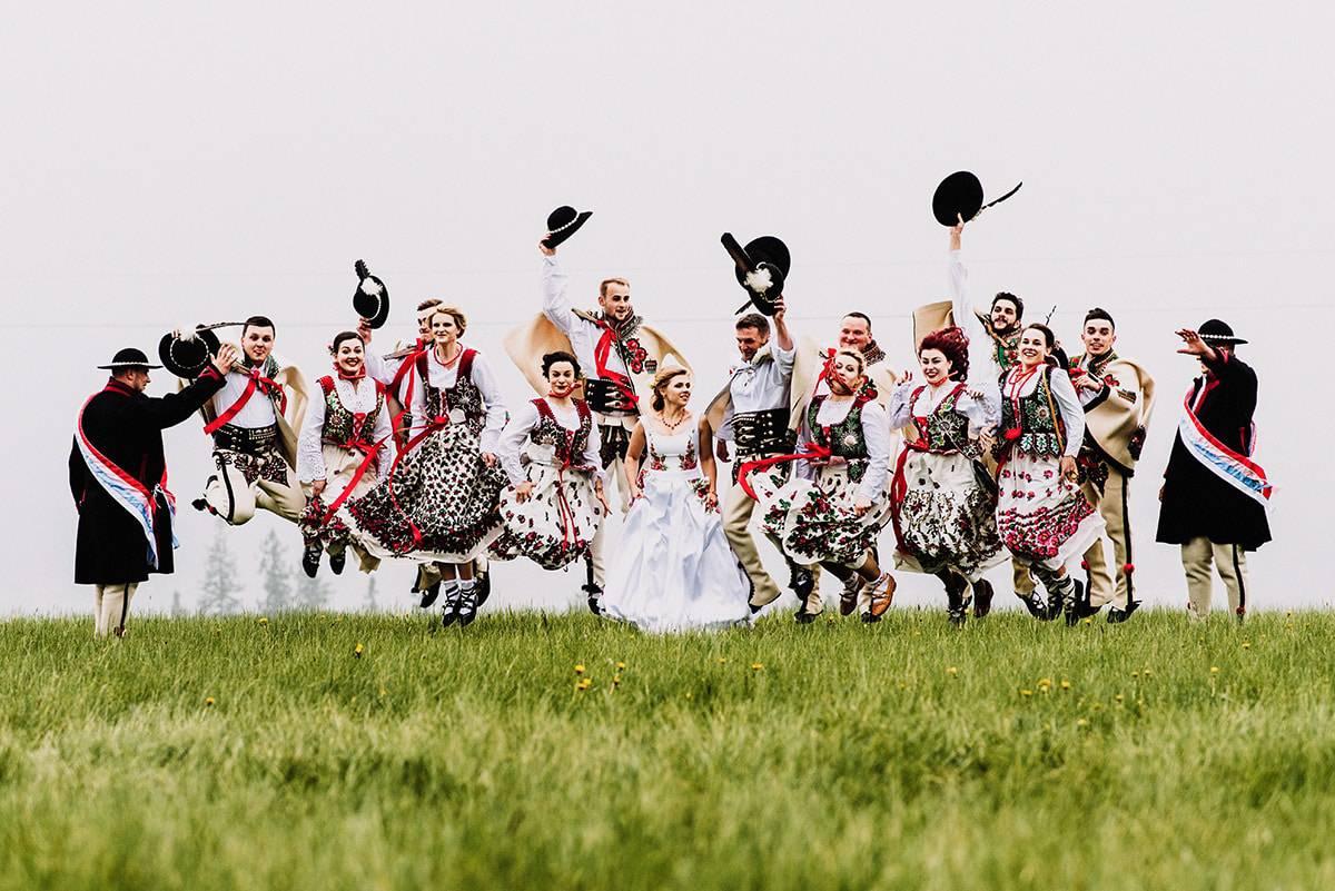 Góralskie wesele plener
