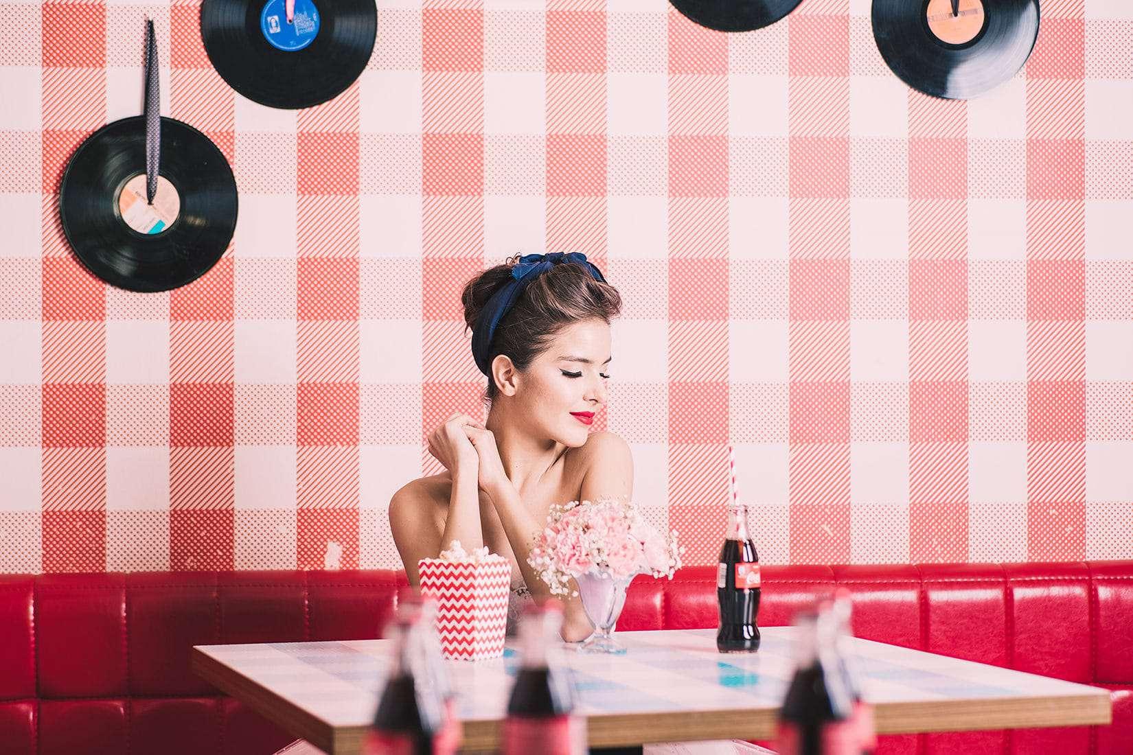 coca cola photoshoot