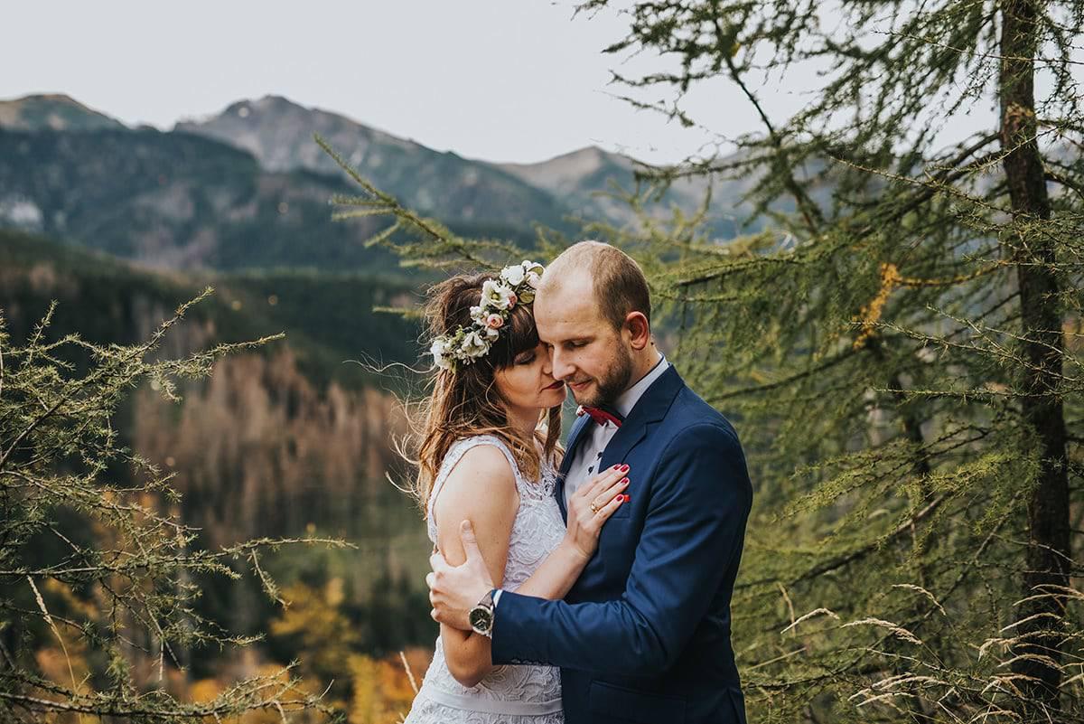 Zdjęcia ślubne w Tatrach – Nosal