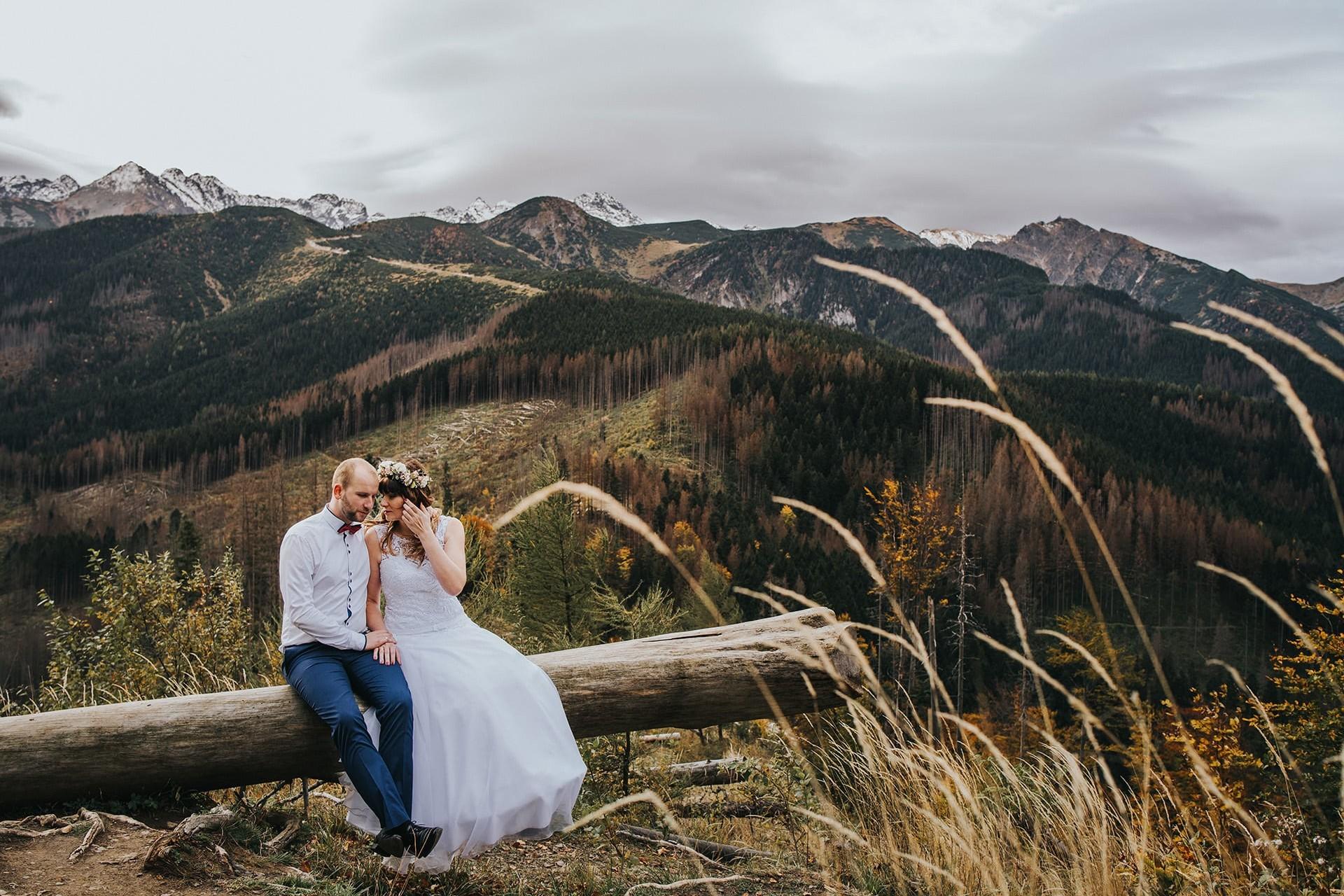 Tatry zdjęcia ślubne