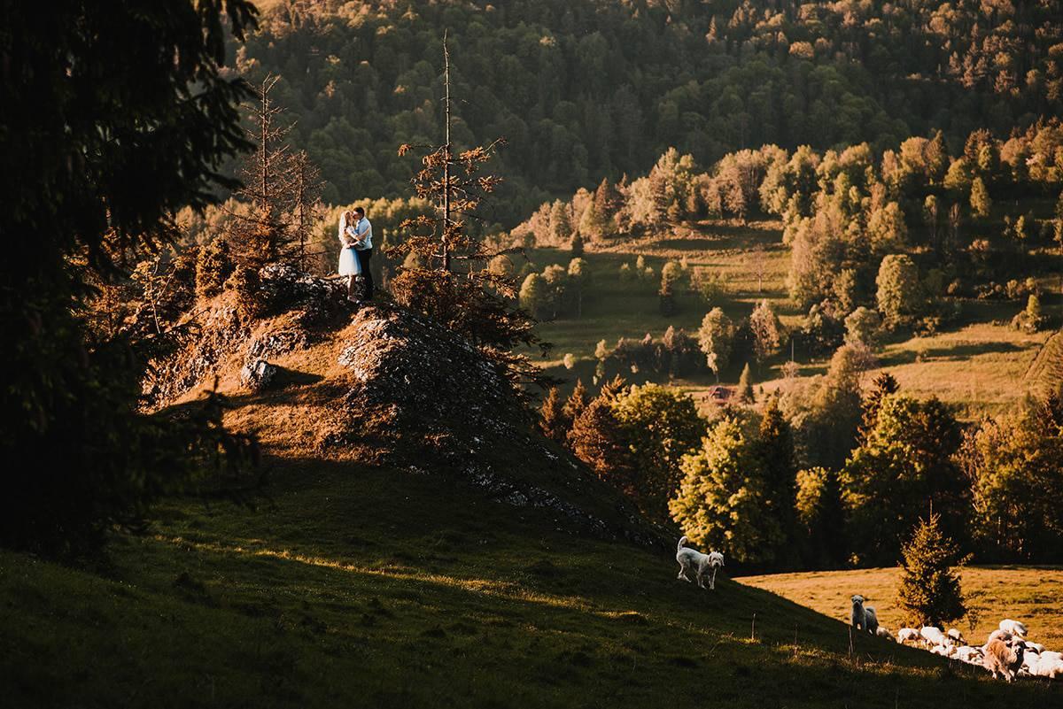 Sesja narzeczeńska w górach 10