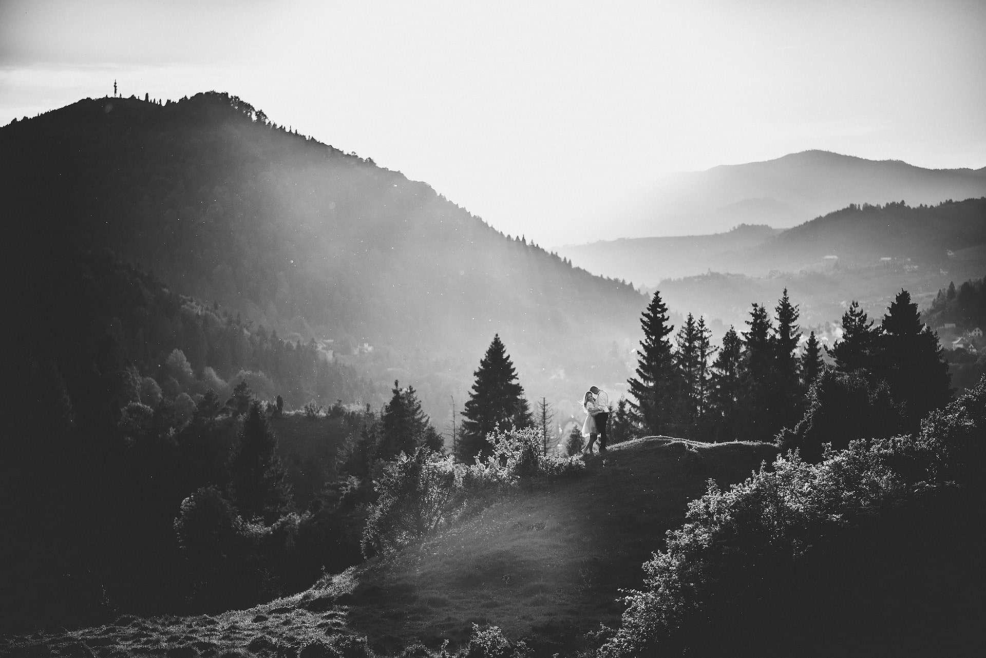 sesja narzeczeńska w górach