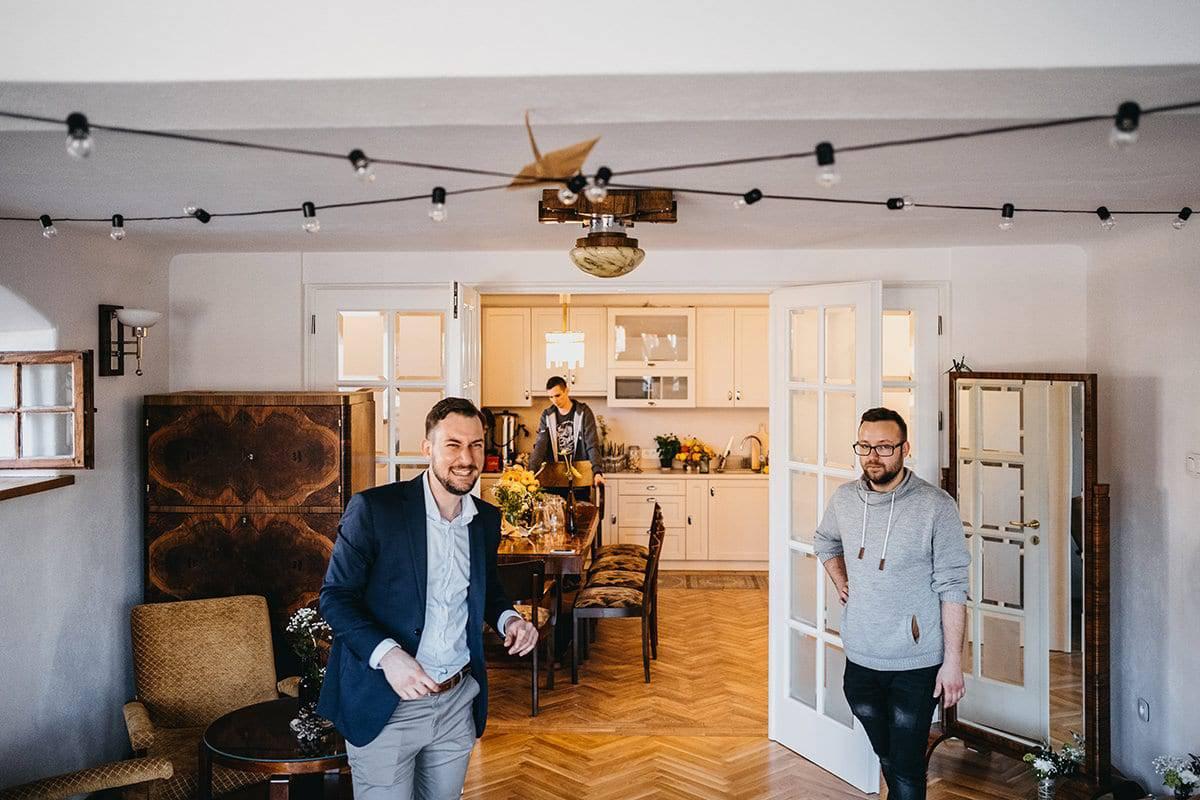 Kameralne wesele w domu 16