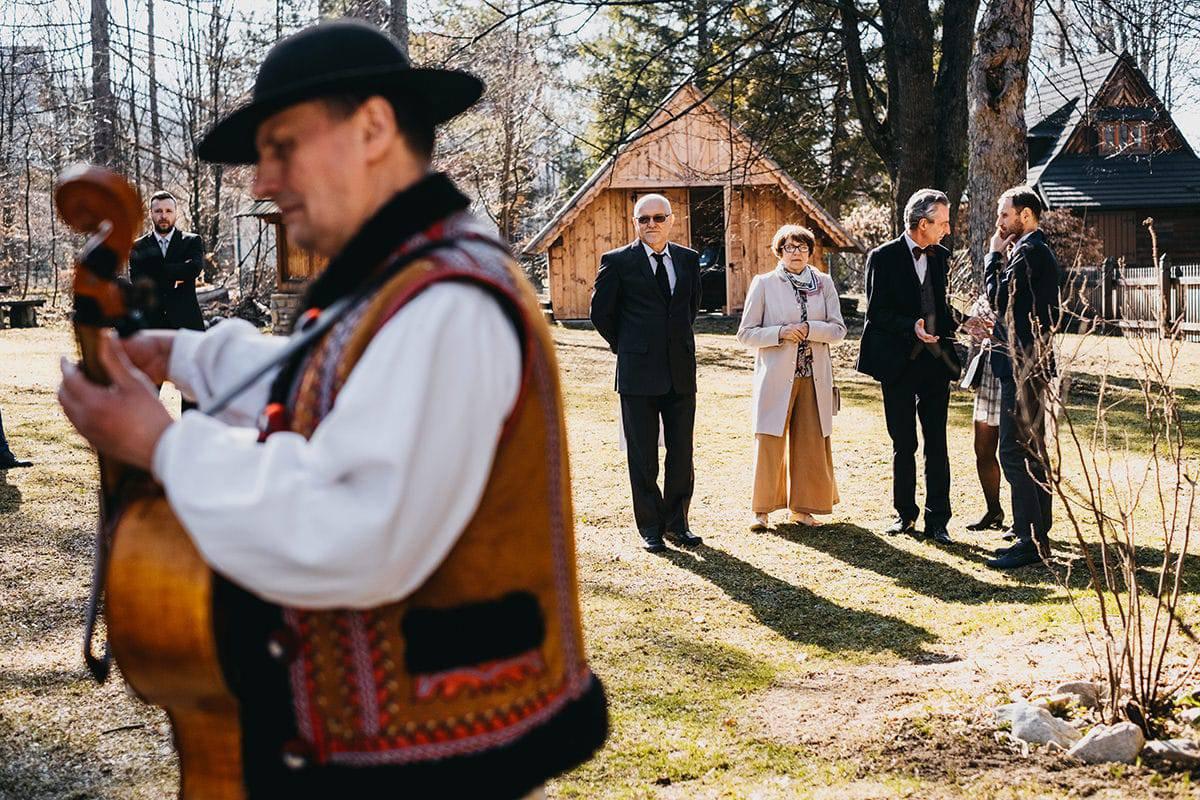 Kameralne wesele w domu 34
