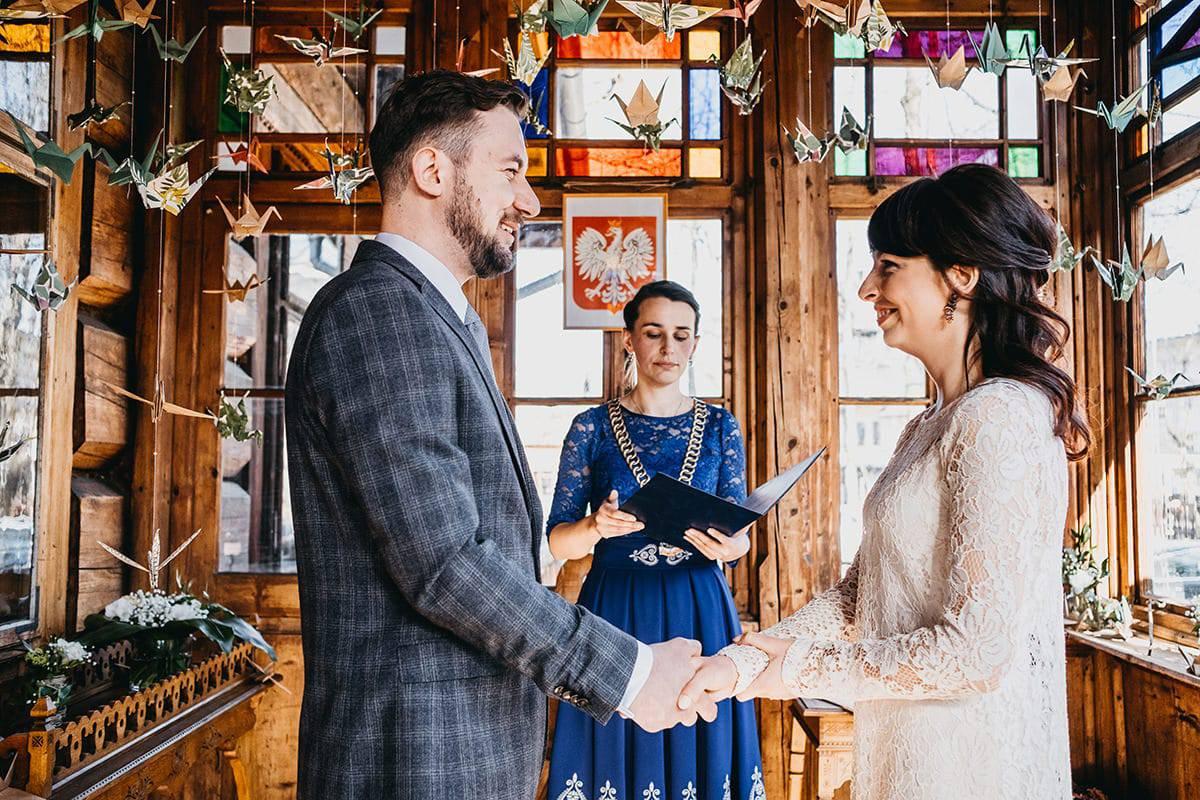 Kameralne wesele w domu 40