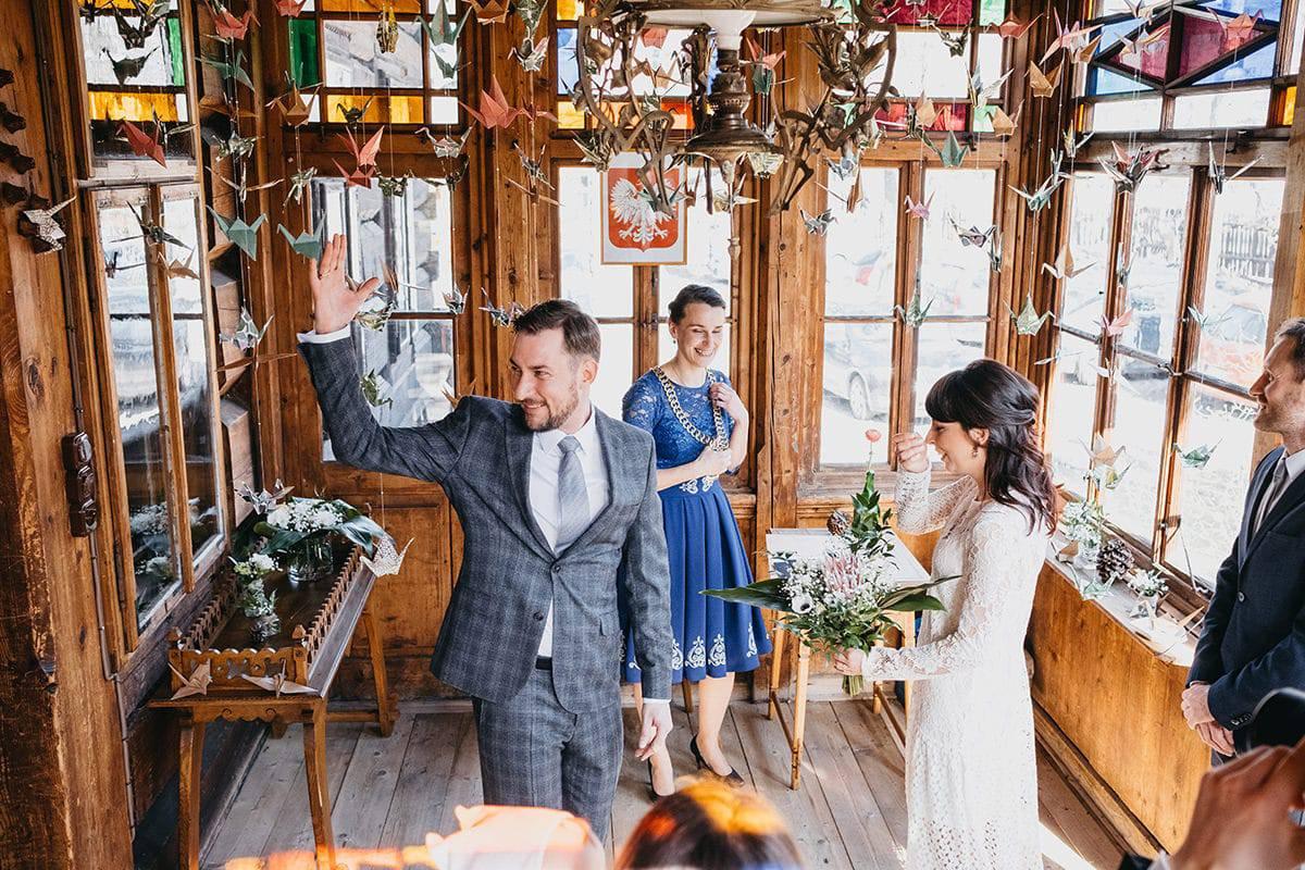 Kameralne wesele w domu 43