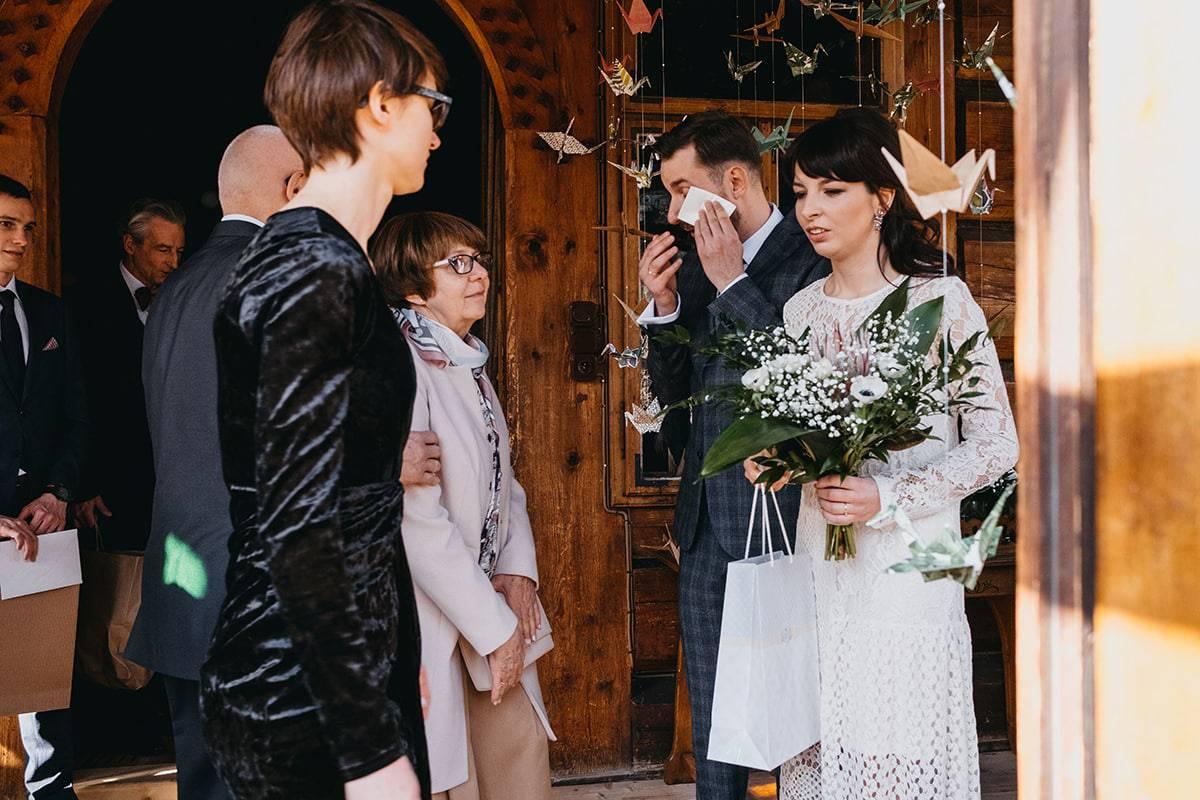 Kameralne wesele w domu 45