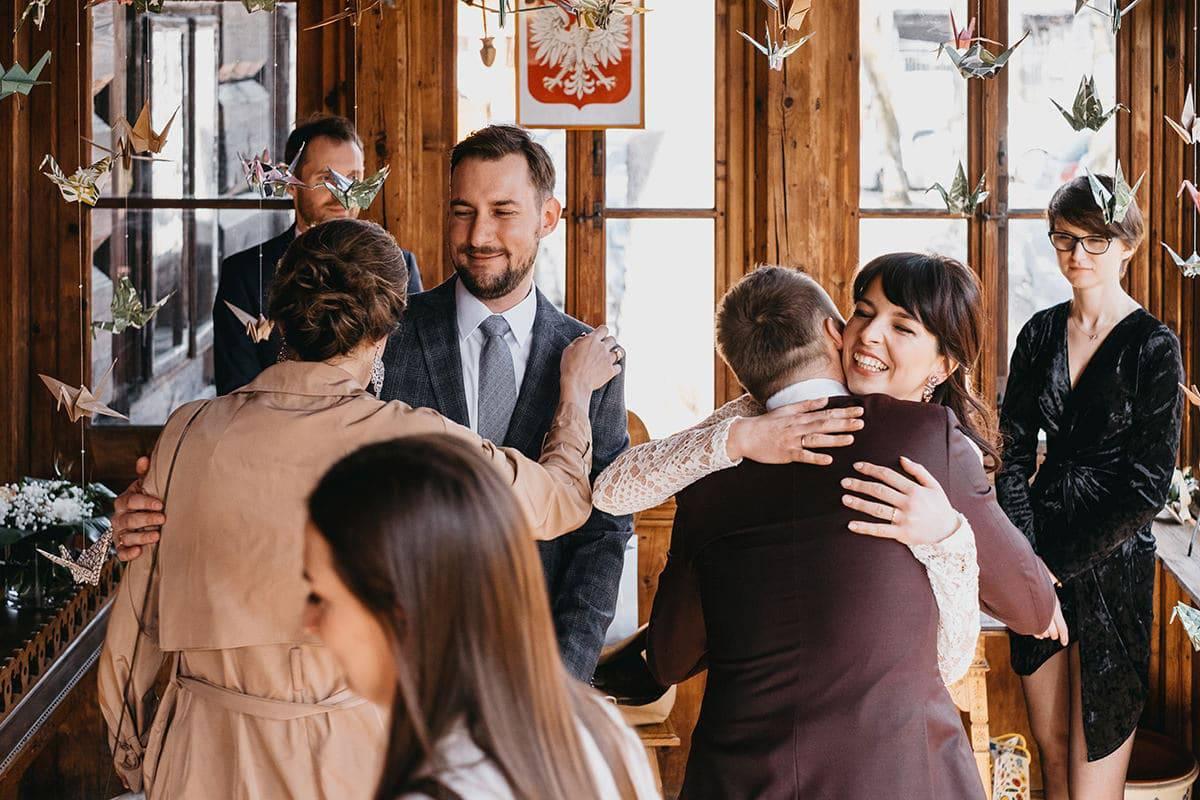 Kameralne wesele w domu 47