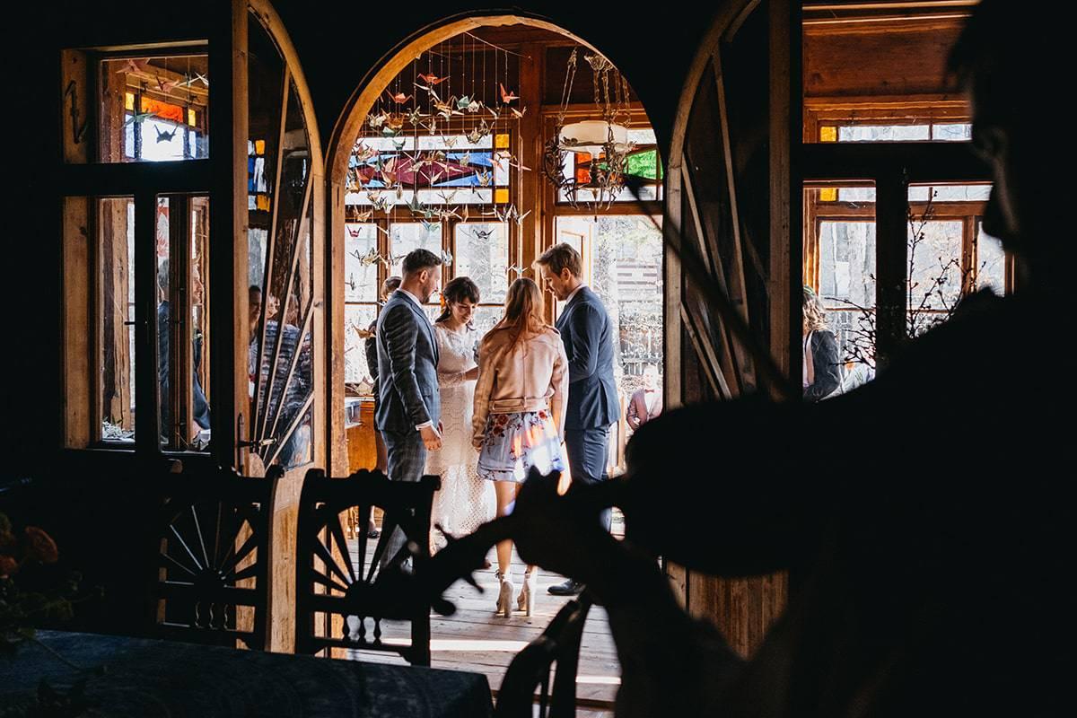 Kameralne wesele w domu 48