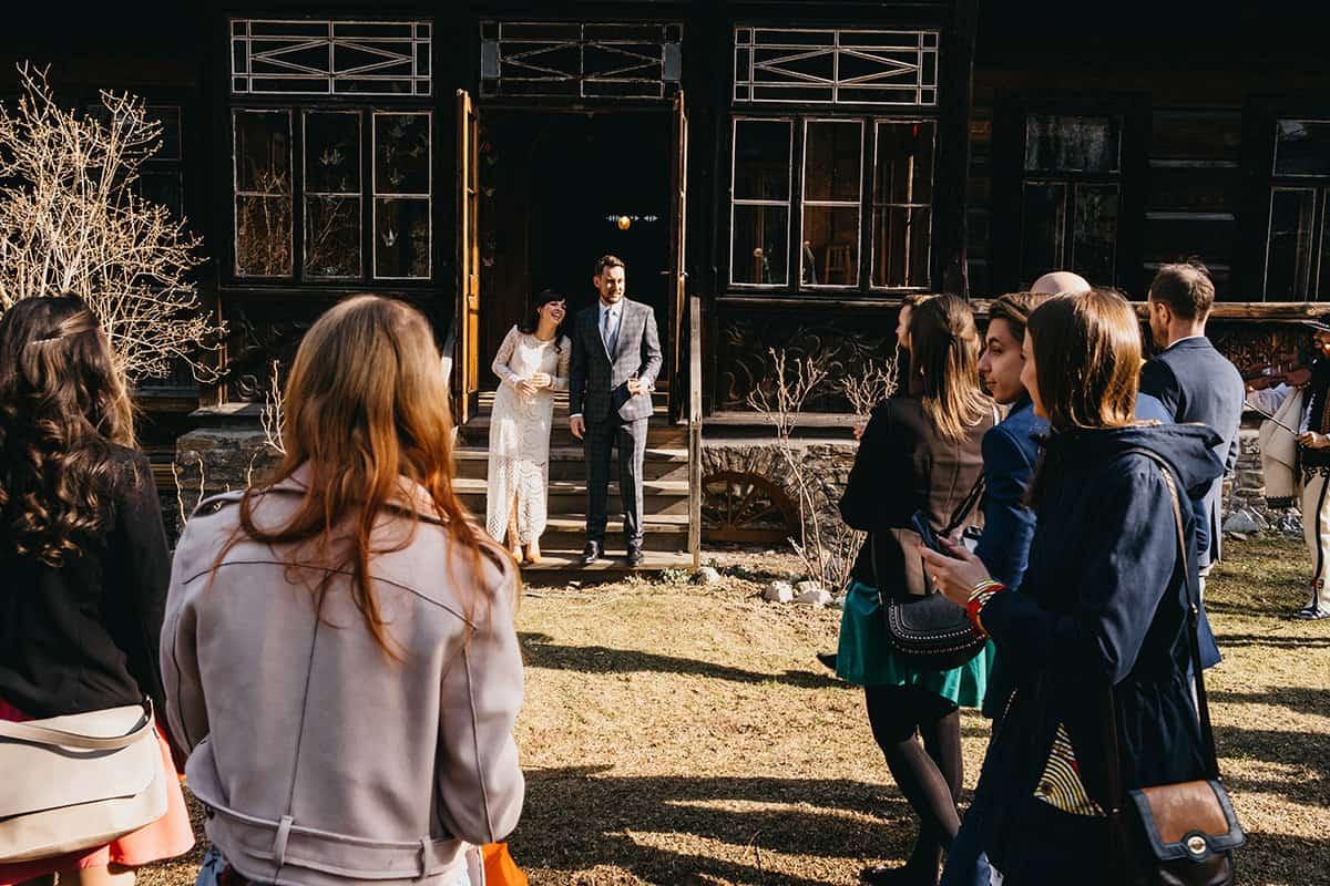Kameralne wesele w domu 51