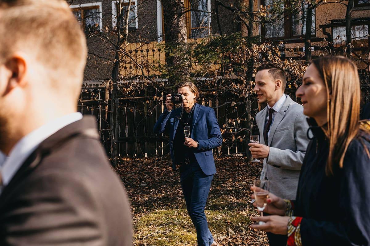 Kameralne wesele w domu 52