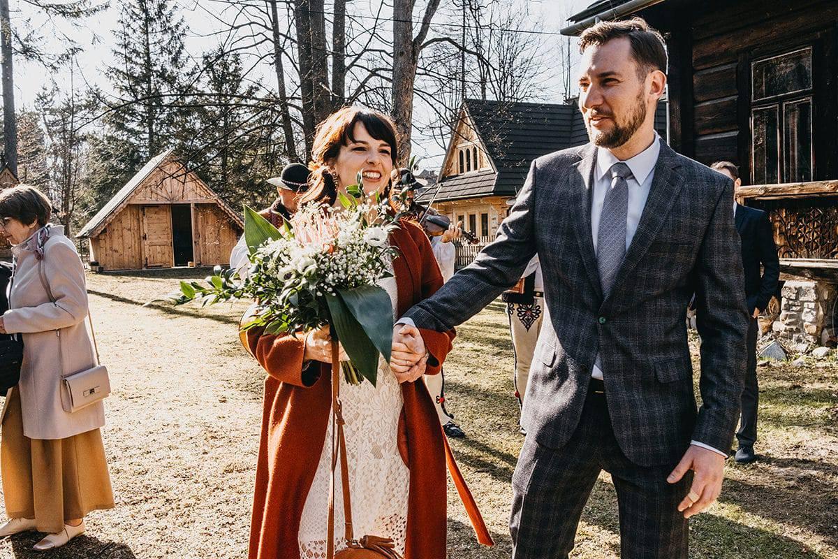Kameralne wesele w domu 55