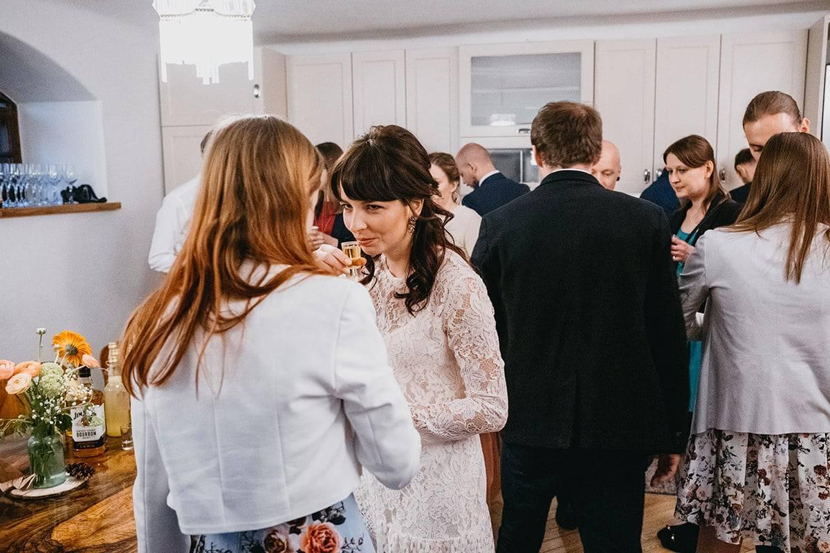 Kameralne wesele w domu 69