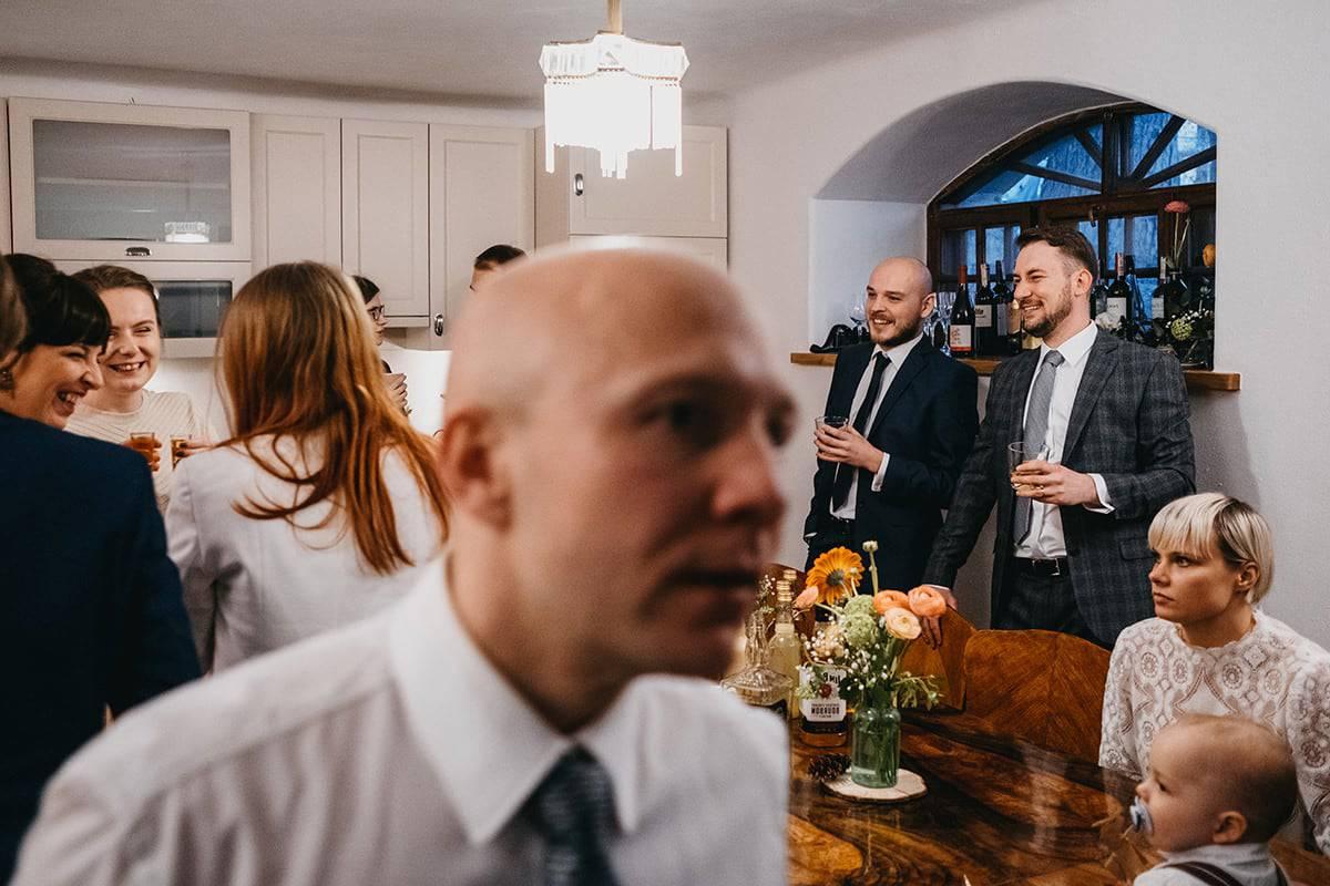 Kameralne wesele w domu 70