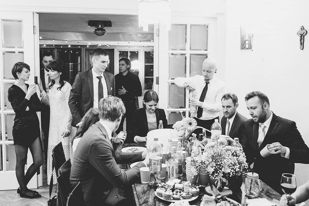 Kameralne wesele w domu 76