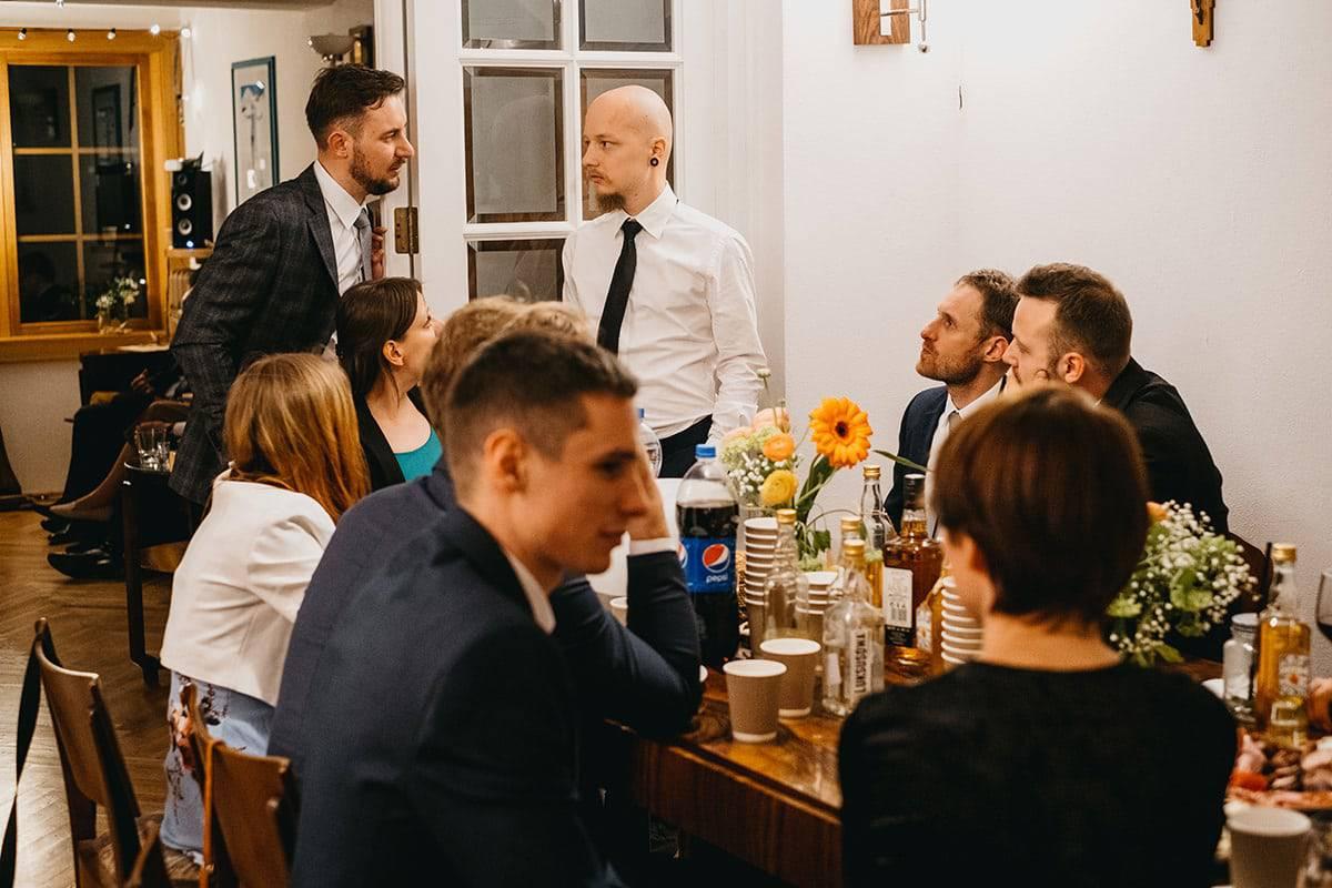 Kameralne wesele w domu 80