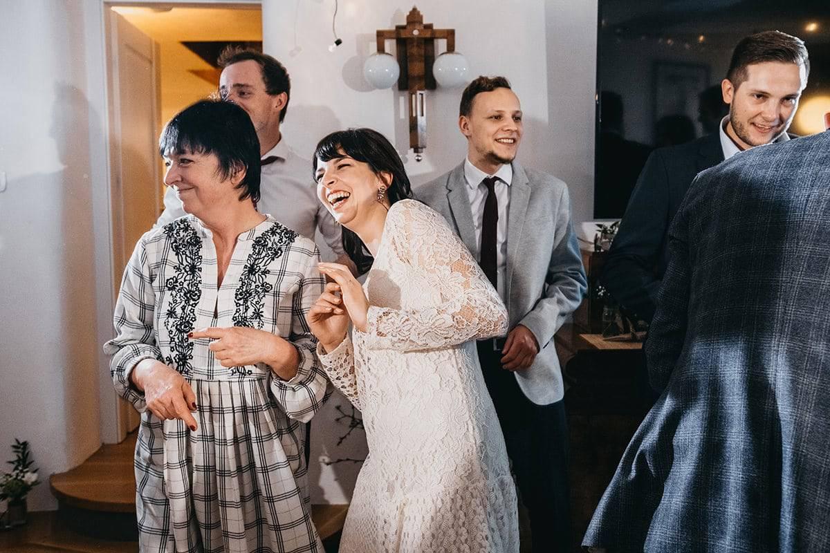 Kameralne wesele w domu 82