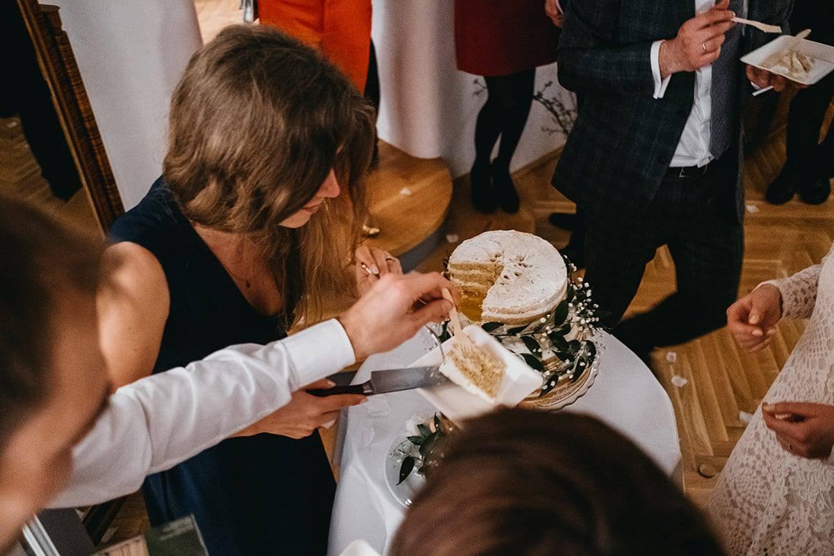 Kameralne wesele w domu 85