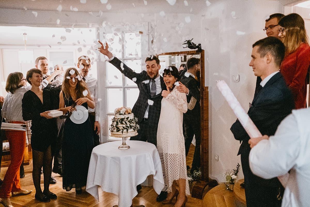 Kameralne wesele w domu 86