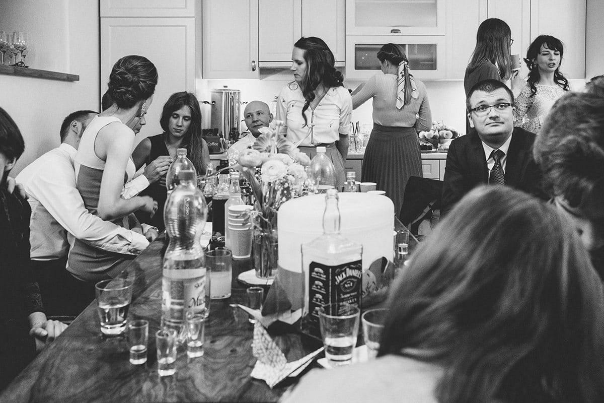 Kameralne wesele w domu 89
