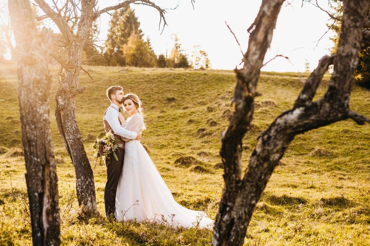 Jesienny plener ślubny 1
