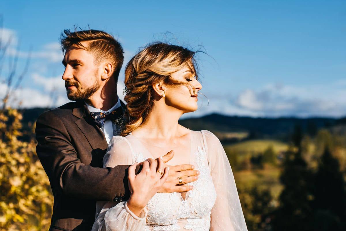 Jesienny plener ślubny 5