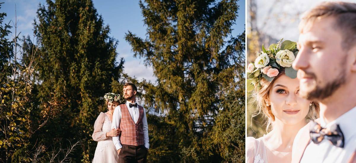 Jesienny plener ślubny 7