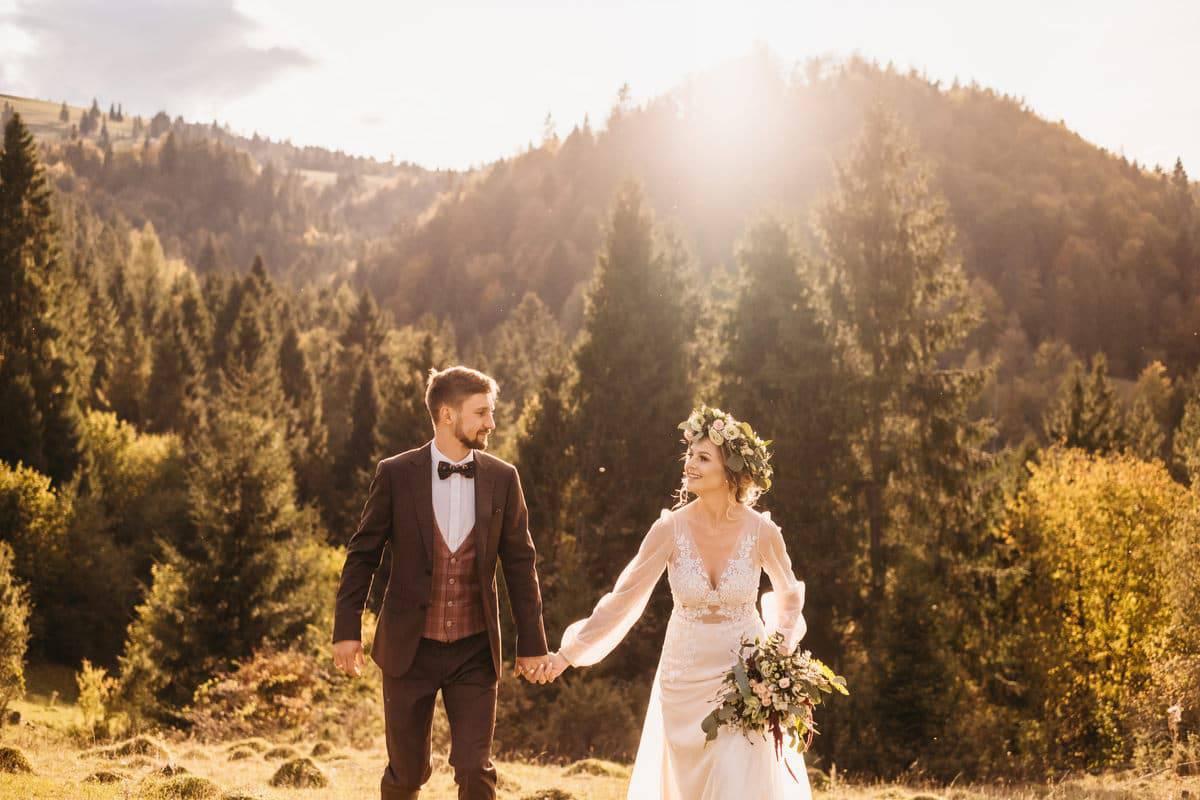 Jesienny plener ślubny 10
