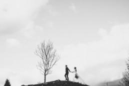 Jesienny plener ślubny 16