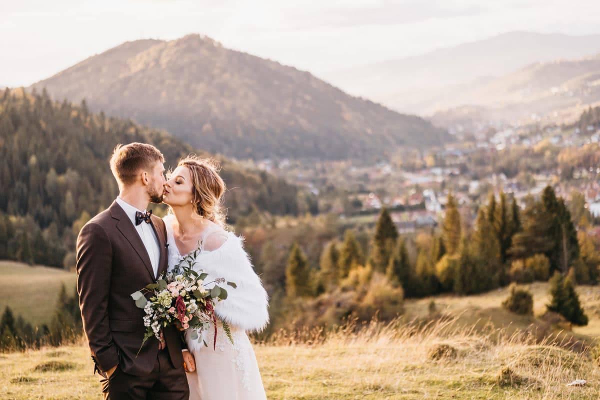 Jesienny plener ślubny 25