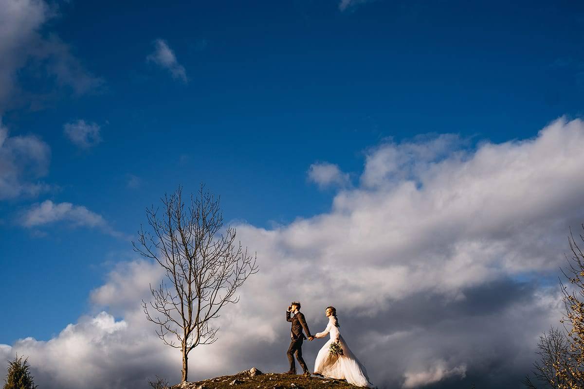 Jesienny plener ślubny 4
