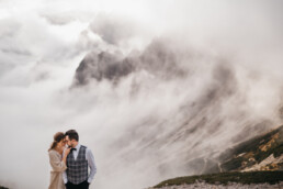 Plener ślubny w Dolomitach