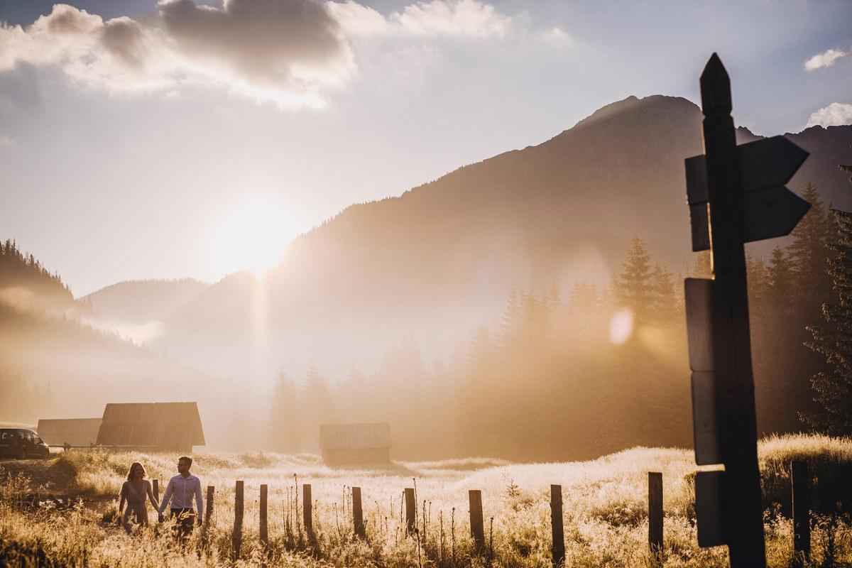 Dolina Chochołowska - sesja ślubna w Tatrach 1