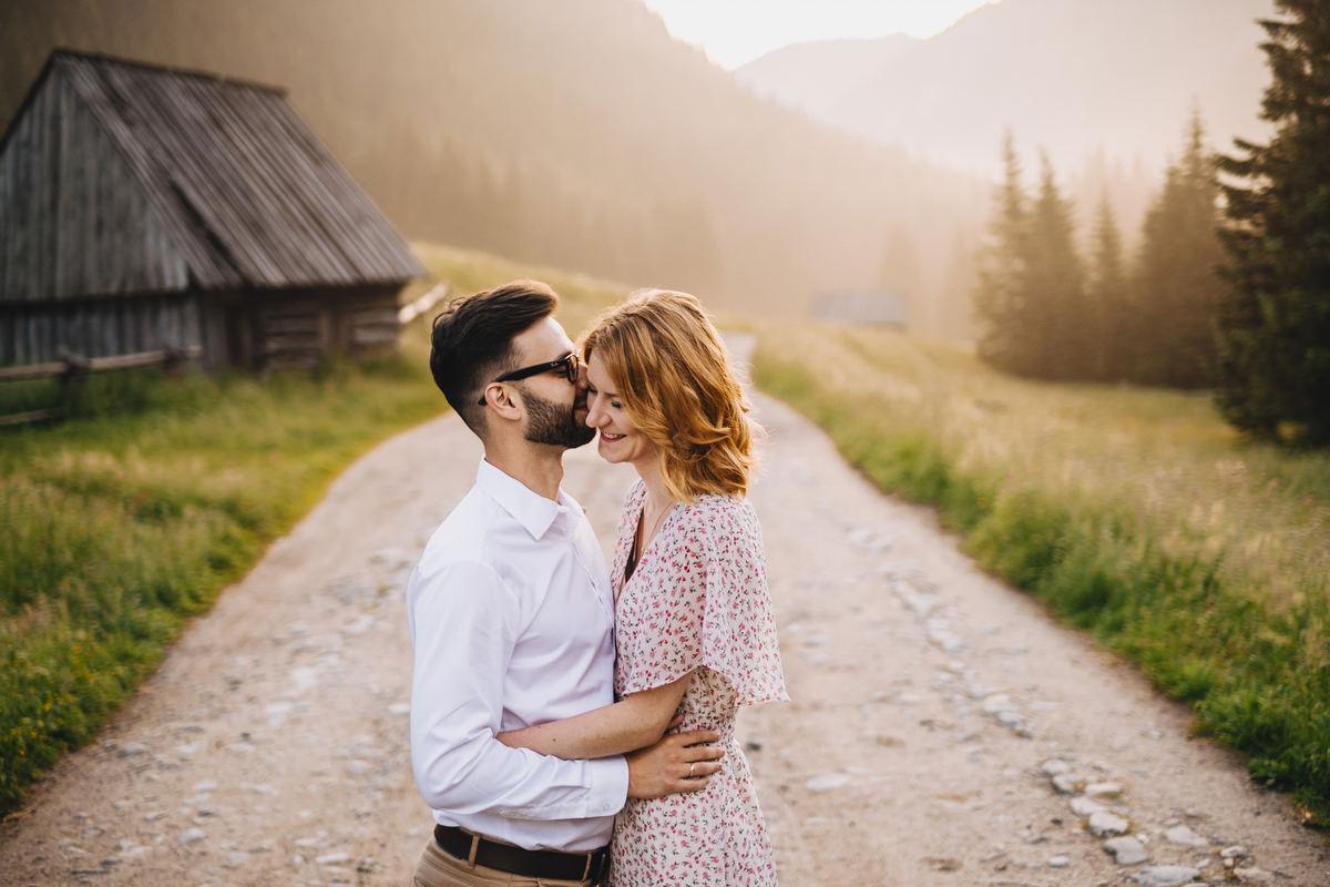Dolina Chochołowska - sesja ślubna w Tatrach 5