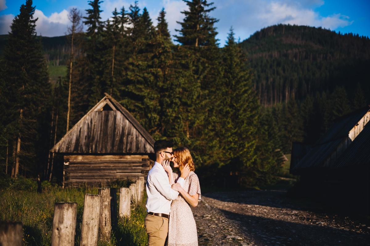 Dolina Chochołowska - sesja ślubna w Tatrach 8