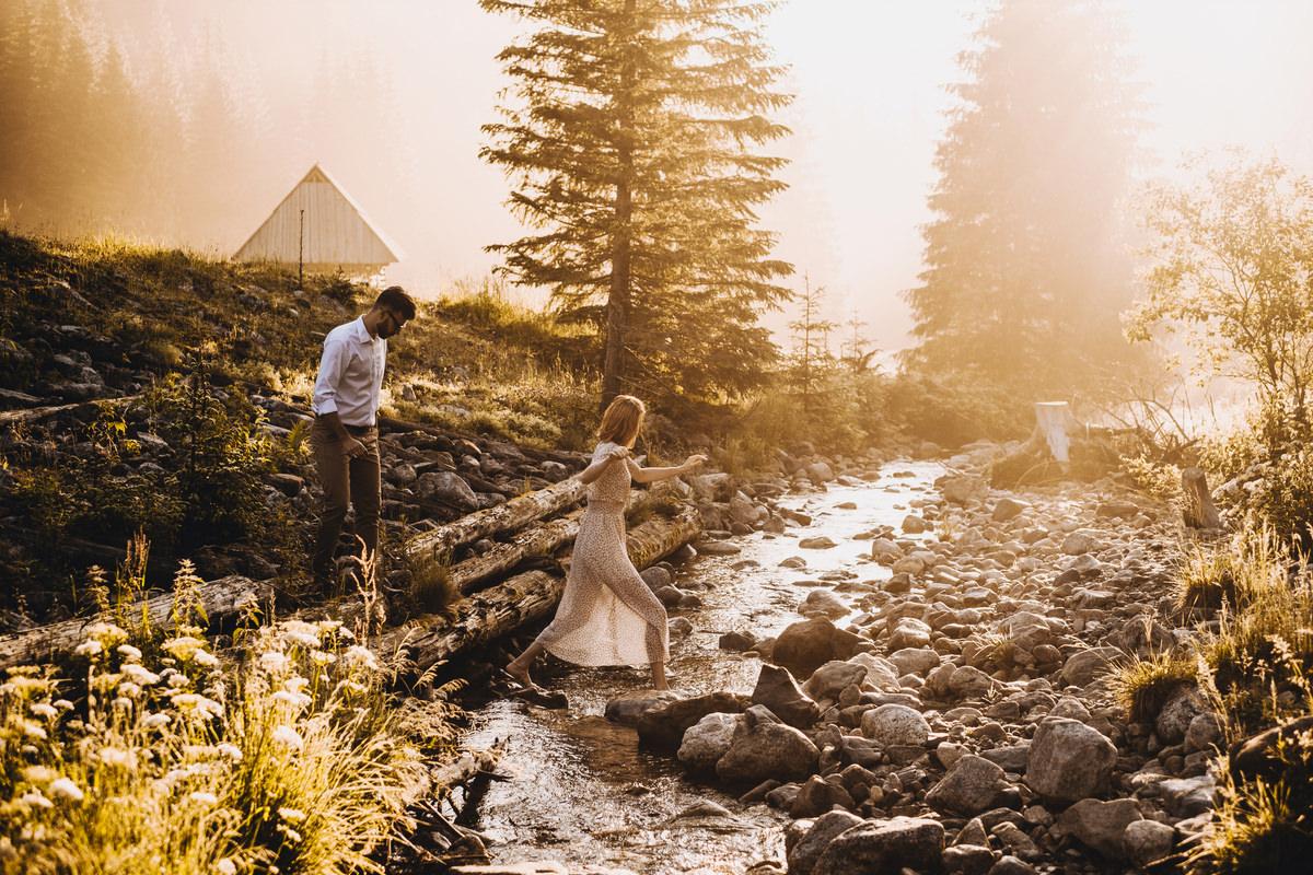 Dolina Chochołowska - sesja ślubna w Tatrach 13