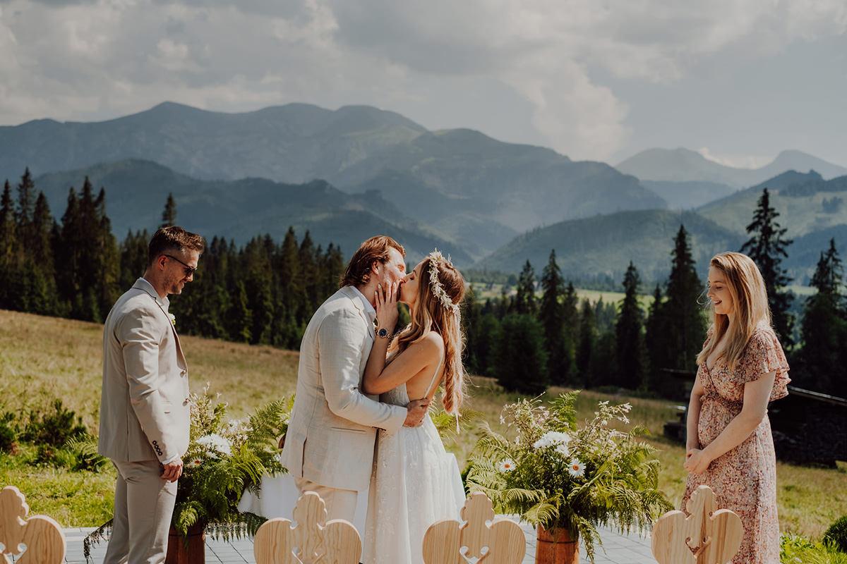 Ślub w górach 1